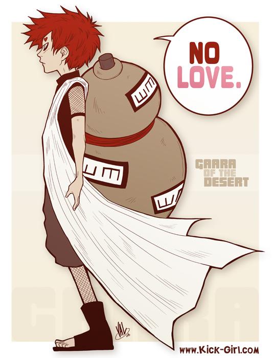 Gaara - No Love by valval on DeviantArt