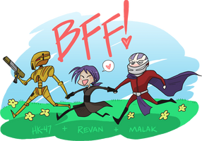 KOTOR - BFF by valval