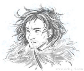 Jon Snow by valval