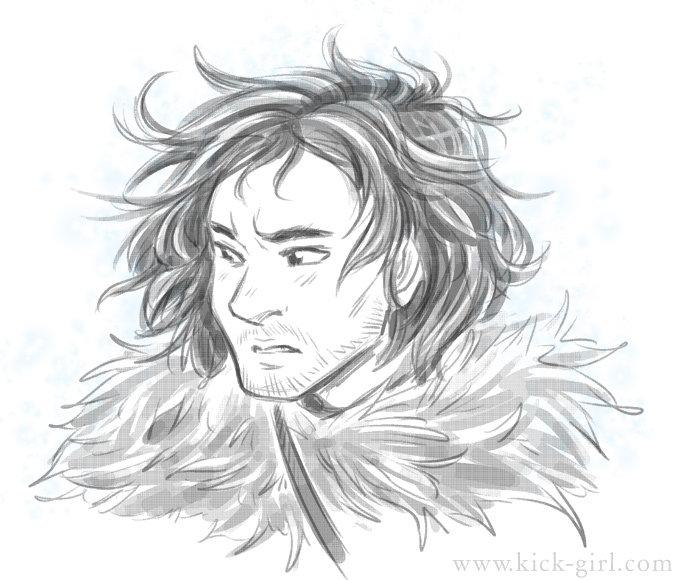 Jon Snow by valval
