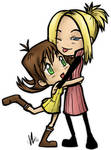 Selphie and Quistis