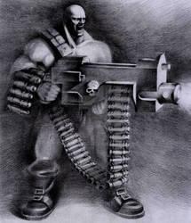 Sergeant Harker by Ork-artist