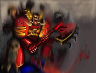Kharn the Betrayer by Ork-artist