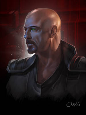 Command and Conquer Brotherhood of NOD Kane scetch