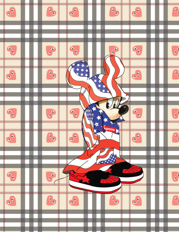 Hypebeast Mickey Mouse By Finalreality56 On Deviantart