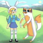 Fionna and Cake - Adventure Time