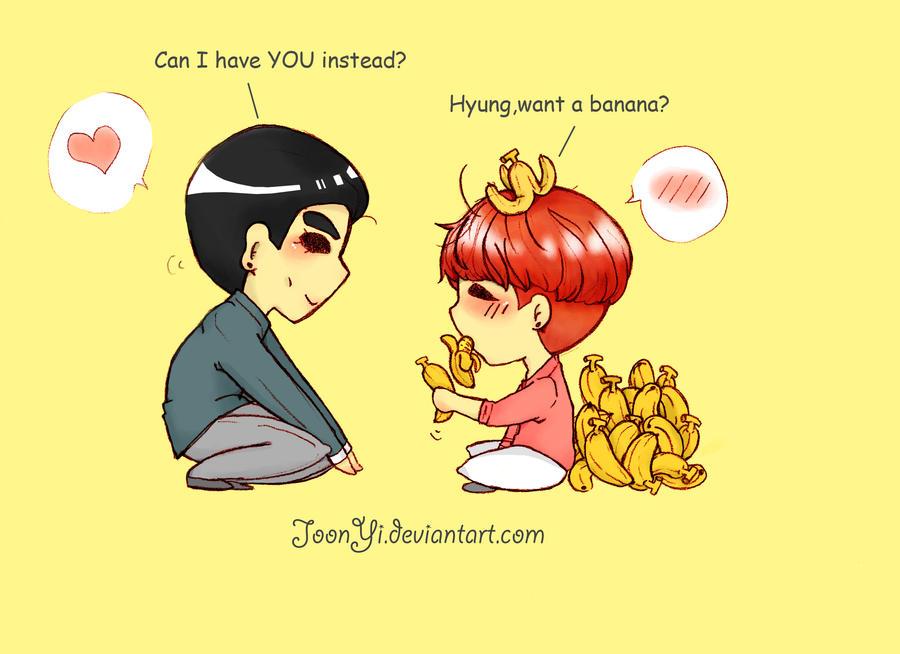 Banana Love by JoonYi