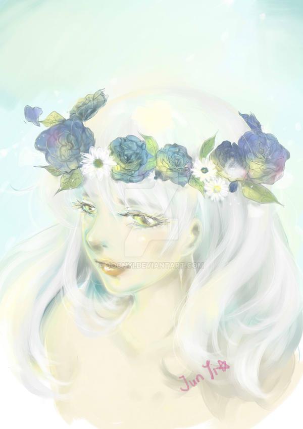 Flower Crown by JoonYi