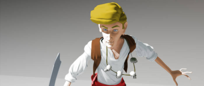 Guybrush Threepwood 3D -Color-