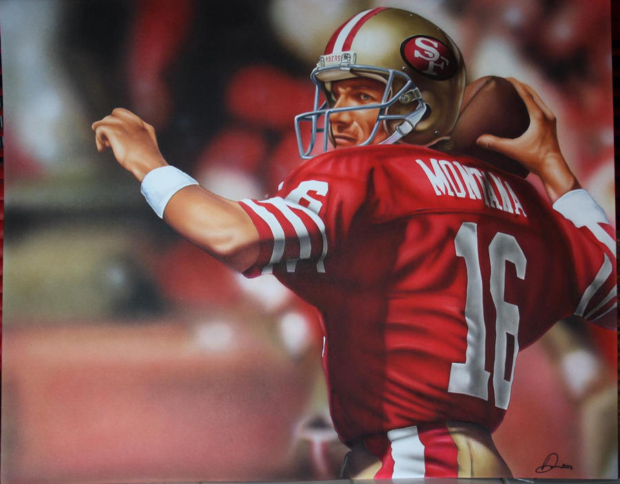 """Joe Montana Quote: """"When the game is over I just want to look at"""