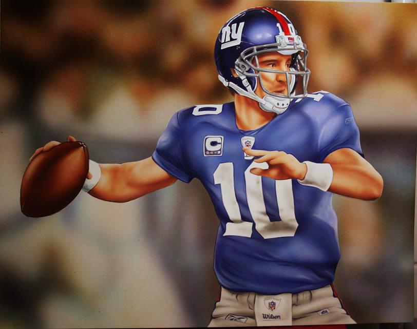 Eli Manning 2017 Stats >> Eli Manning by Retrodan16 on DeviantArt