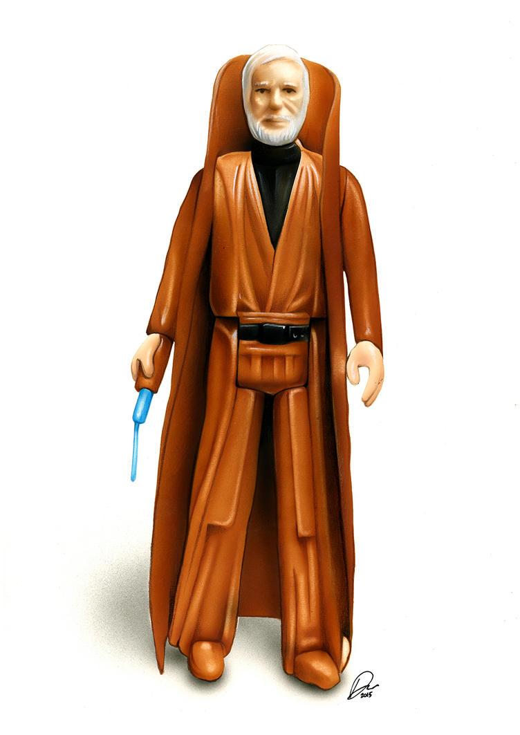Ben Kenobi Action Figure by Retrodan16