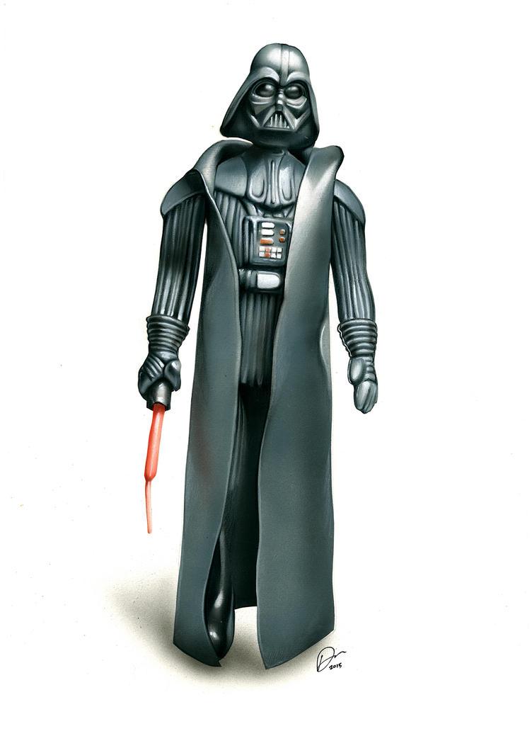 Darth Vader Action Figure by Retrodan16