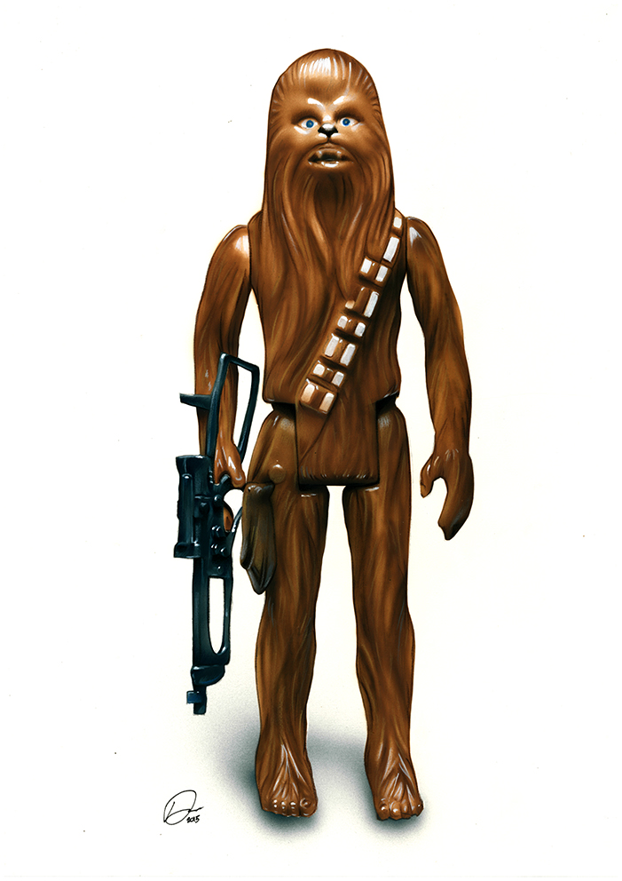 Chewbacca Action Figure by Retrodan16