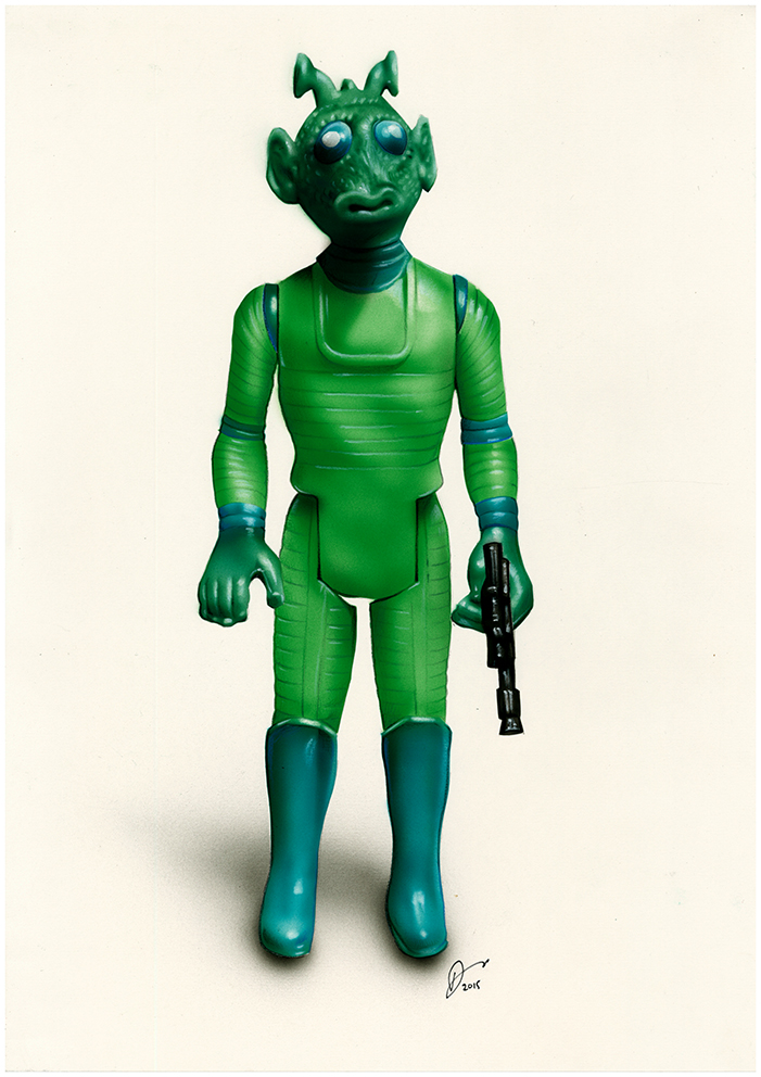 Greedo Action Figure by Retrodan16