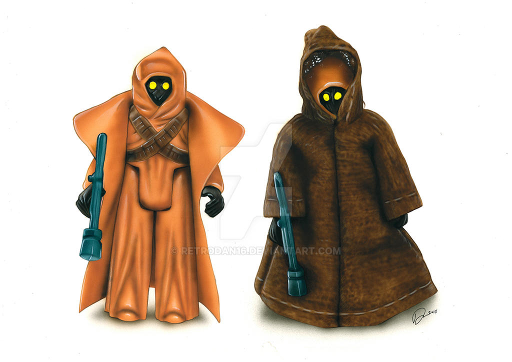 Jawa Action Figures by Retrodan16