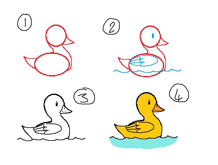 How To Draw A Duck by kittyproc on DeviantArt