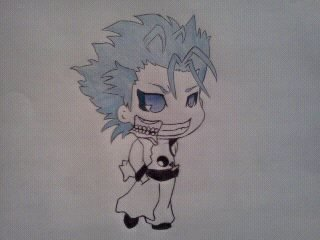 Chibi Grimmjow by The-Misfit-ers