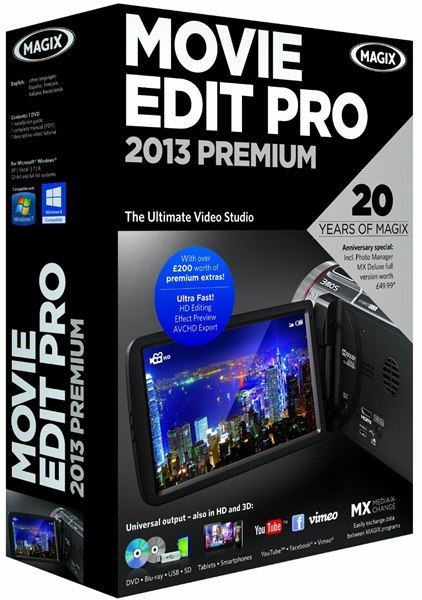 Magix Video Deluxe 2013 Premium Fr + Patch