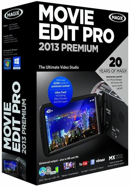Magix Video Deluxe 2013 Premium Fr + Patch