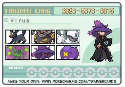 Trainer I.D -- Virus by ArataX