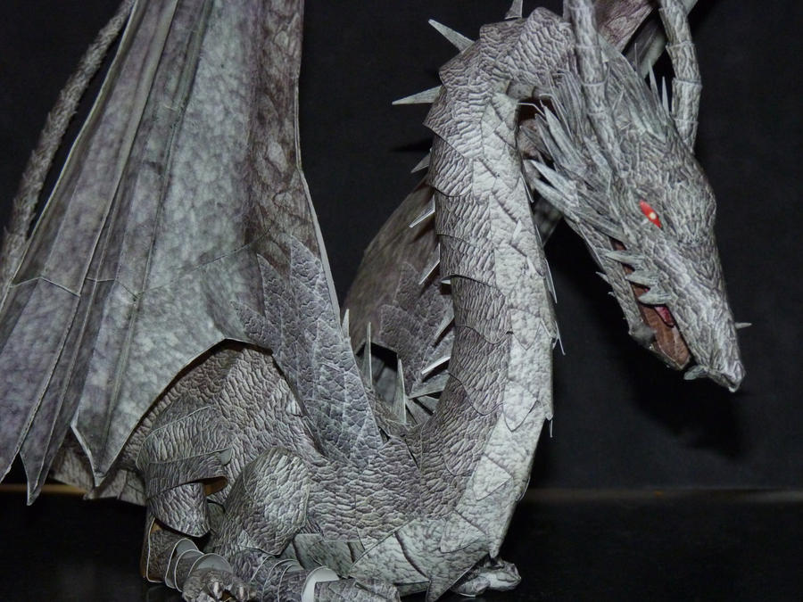 Papercraft Dragon by zandere123