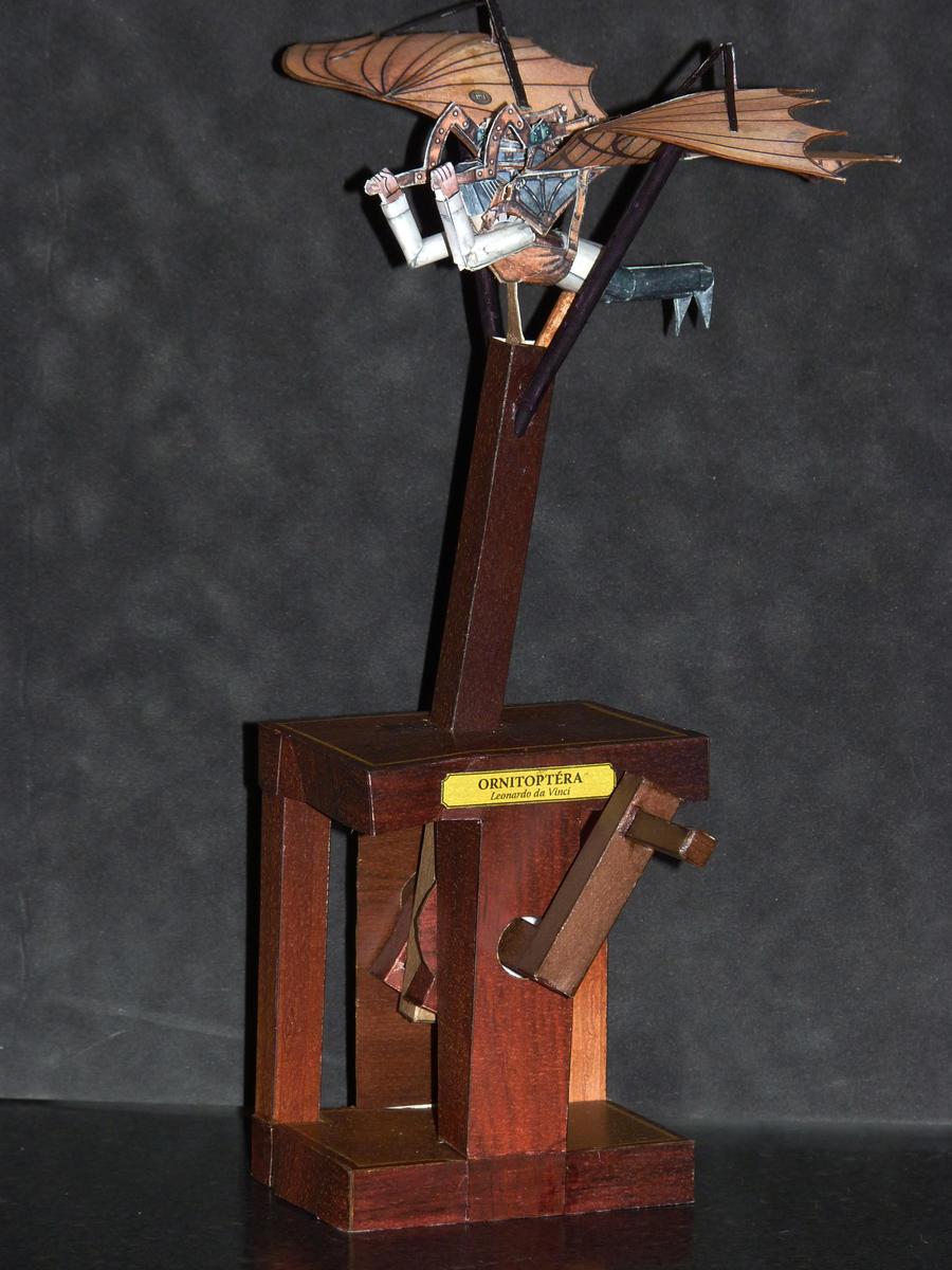 Papercraft Automata da Vinci by zandere123