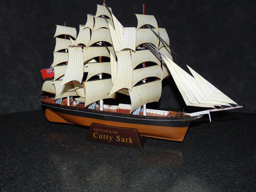 Papercraft  ship by zandere123
