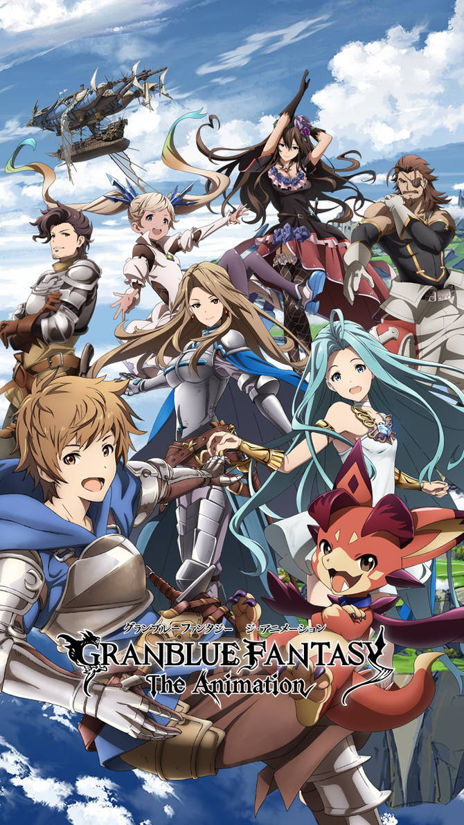 Granblue Fantasy The Animation Phone Wallpaper 2 By Ab 77 On