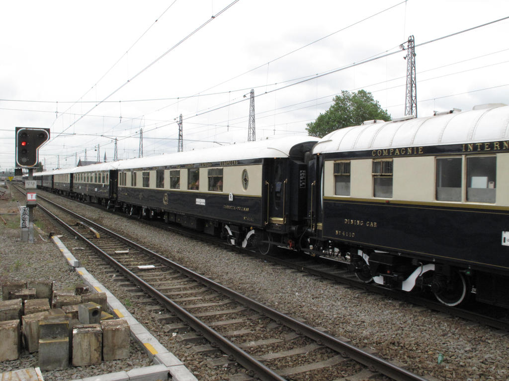 ORIENT EXPRESS 09 DINING CAR 4141 by kanyiko