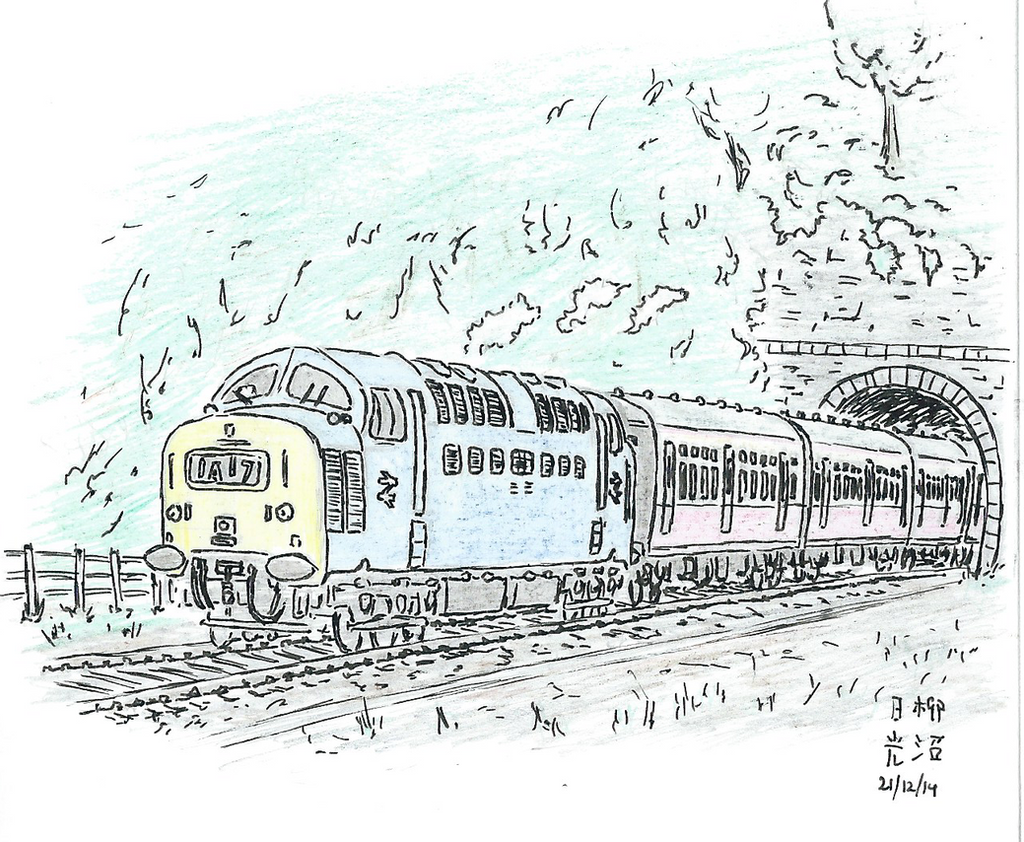 The London Express - colour by kanyiko