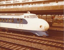 Kyoto 160681 JNR 0 Series Shinkansen Hikari H29 by kanyiko