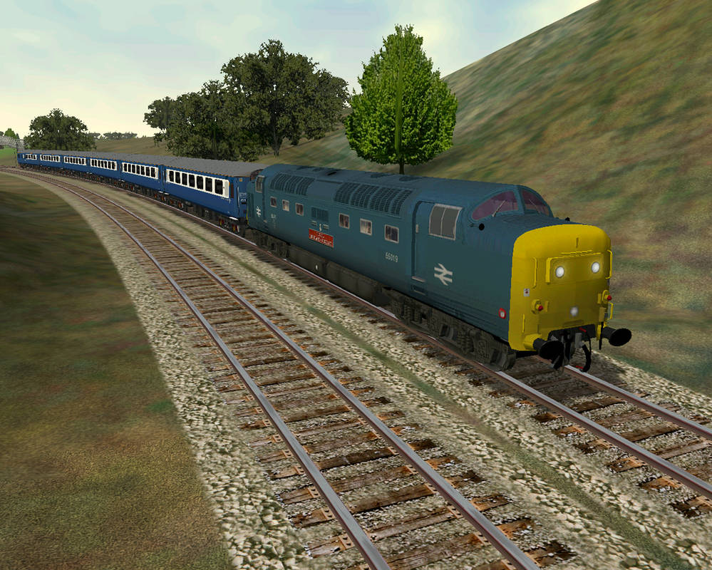 MSTS - Deltic on the S-C by kanyiko on DeviantArt
