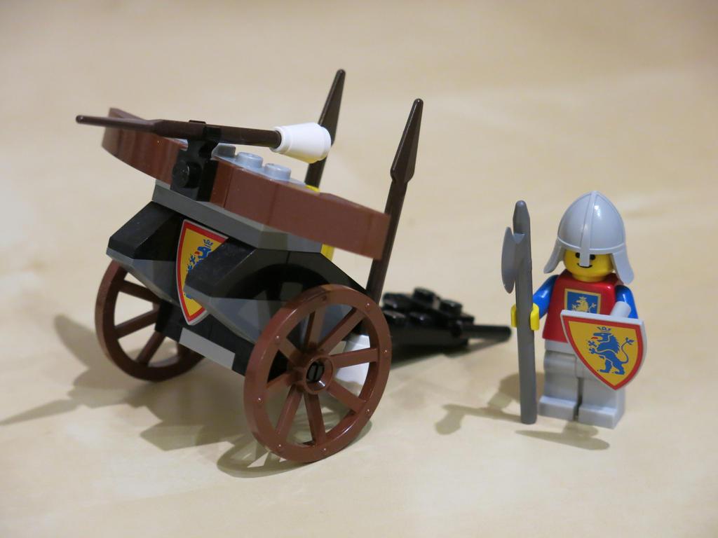 Lego Knights ballista by kanyiko on DeviantArt