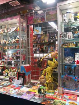 Comic Shop Window