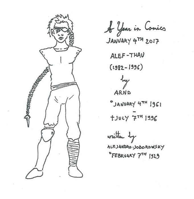 January 4th - Alef-Thau by kanyiko