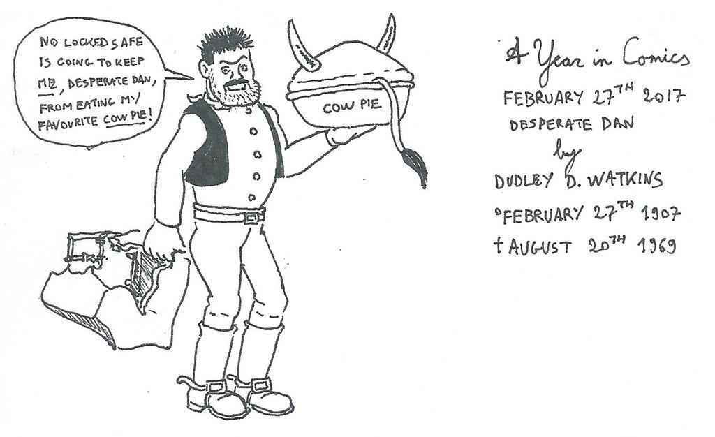 February 27th - Desperate Dan by kanyiko