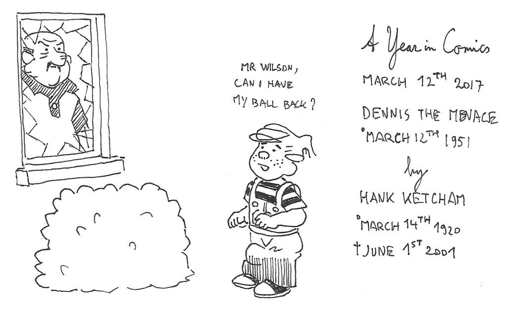 March 12th - Dennis the Menace by kanyiko