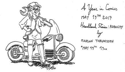 May 19th - Robocity by kanyiko