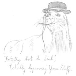 Totally Not A Seal Of Approval