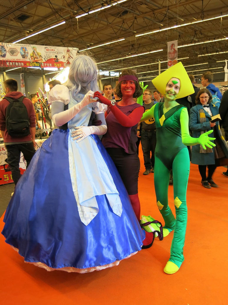 FACTS 2017 Fall Edition, Flanders Expo, Gent (Belgium), October 21st 2017 Cosplays: Sapphire, Ruby and Peridot - Steven Universe Cosplayers: ?