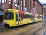 Charleroi 310118 TEC LRV 7415 on M3
