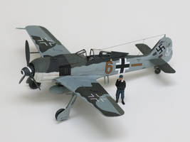 Focke-Wulf Fw 190A-8 175140 'Brown Six' by kanyiko