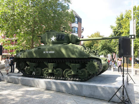 Tanks in Mons: M4A1(76)W Sherman 'In the Mood'