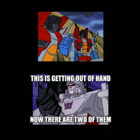 Transformers Generation One Animation Error Meme#1