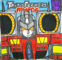 Transformers Armada Starscream Cloth Poster