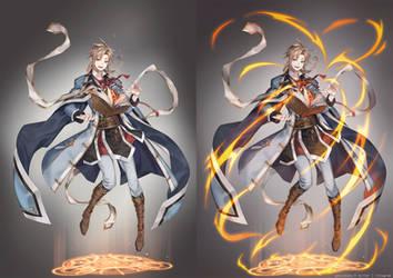 +OC - Hikyo Character design - 2018+ by the-gokunobaka