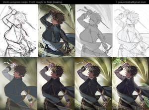 + Stealth Hunter - Venlo + Process shot.