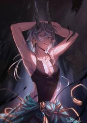 +Fallen Kingdom+ -OC Deiryn by the-gokunobaka