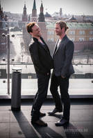 Tom Hiddleston, Chris Hemsworth by ArtPalmira